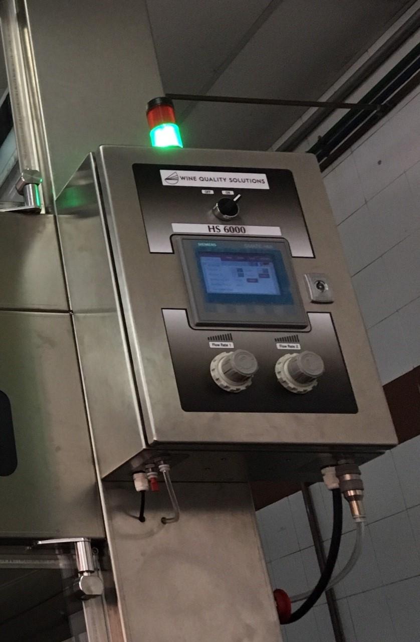 El sistema NomaLine en funcionamiento.